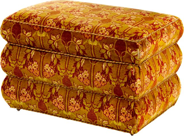 Antique Box Ottoman