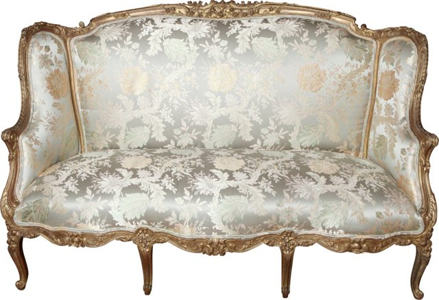 19h-C. French Regency-Style Sofa