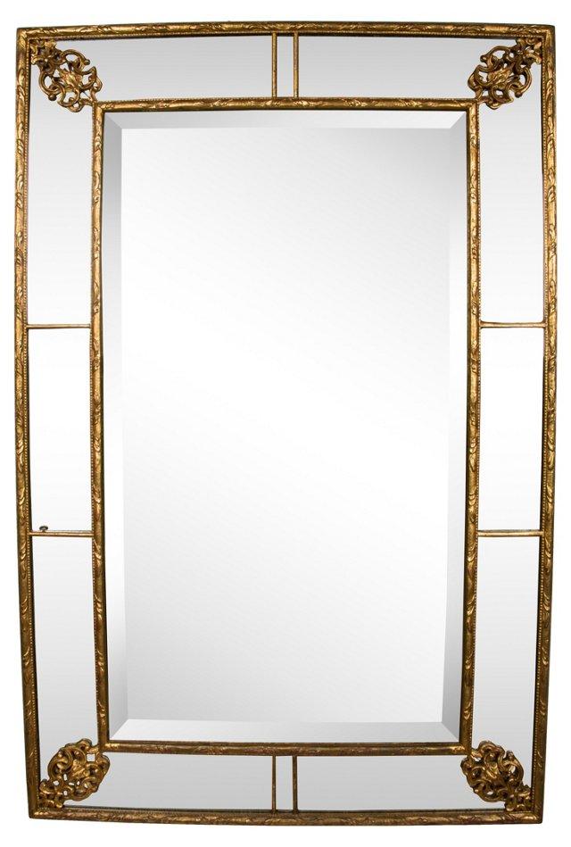 English George II-Style Looking Glass