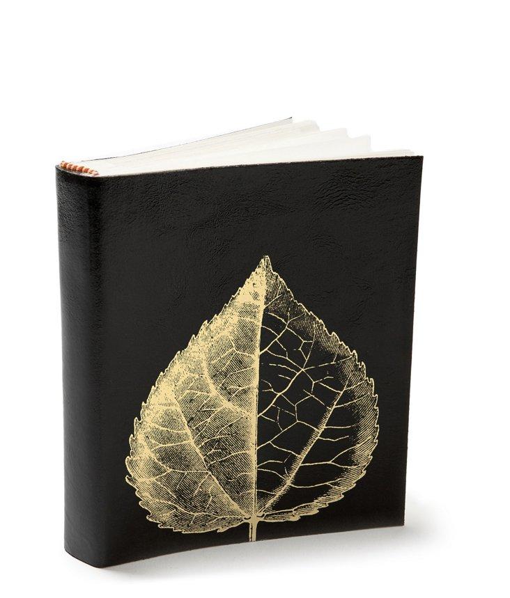 Leaf Photo Book, Black