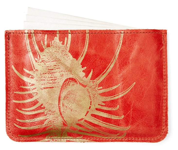 S/10 Cards in Shell Case, Coral