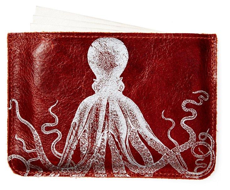 S/10 Cards in Octopus Case, Sienna