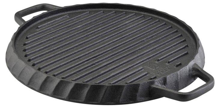 Cast Iron Single Burner Griddle Pan