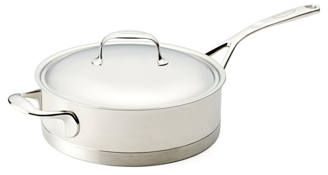 Atlantis Low Saucepan & Lid