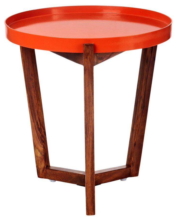 Jeyo Tray Table, Orange