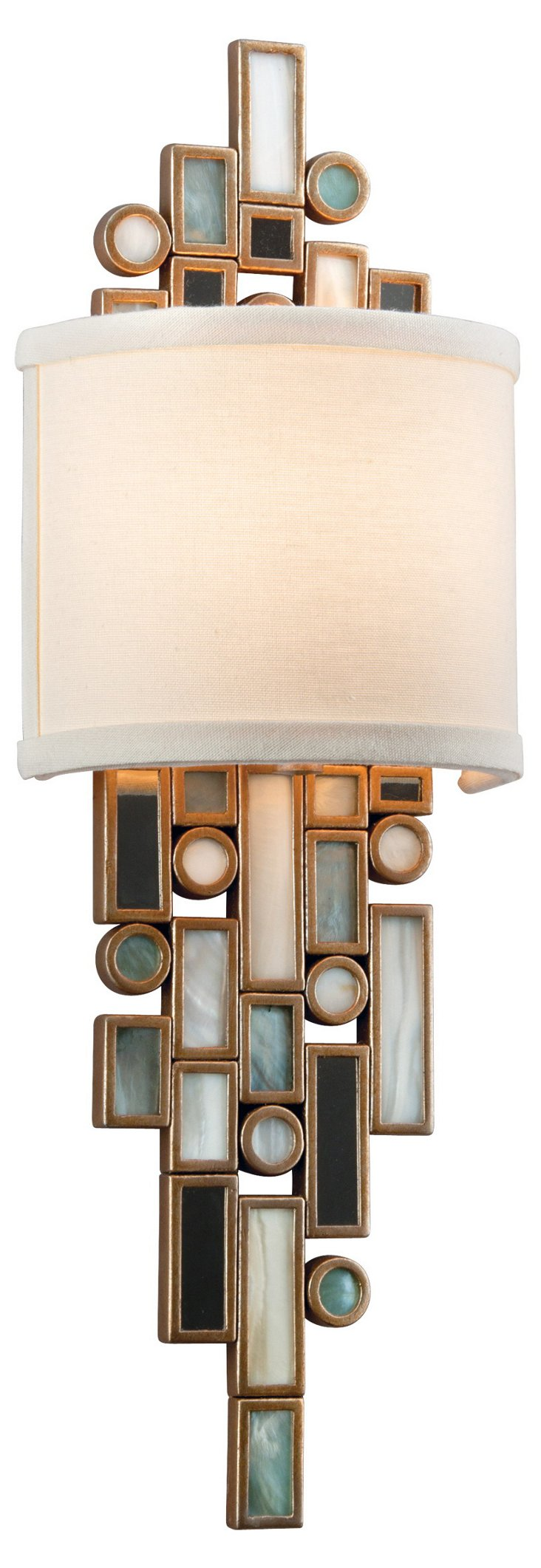Dolcetti 1-Light Wall Sconce, Silver