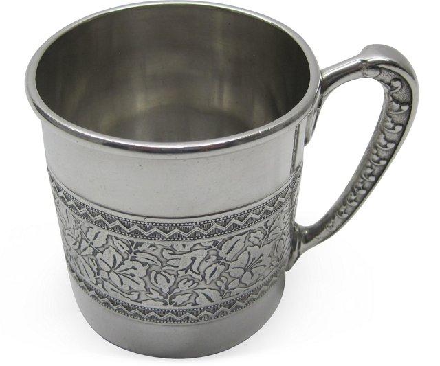 19th-C. Silverplate Cup II