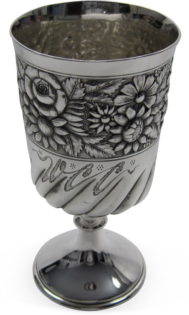 Silverplate Goblet, C. 1880