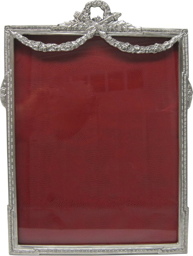 19th-C. Silverplate Frame