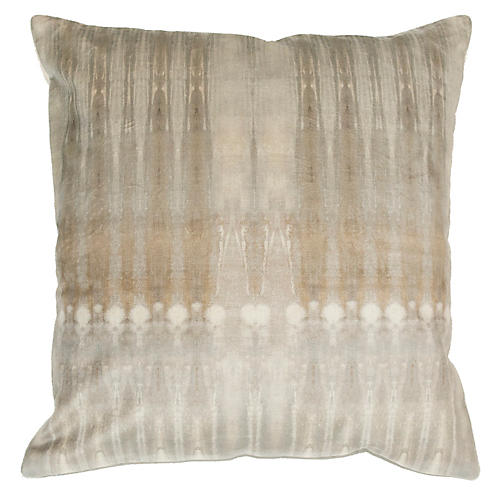 Dune No. 1 20x20 Pillow, Dark Natural Velvet