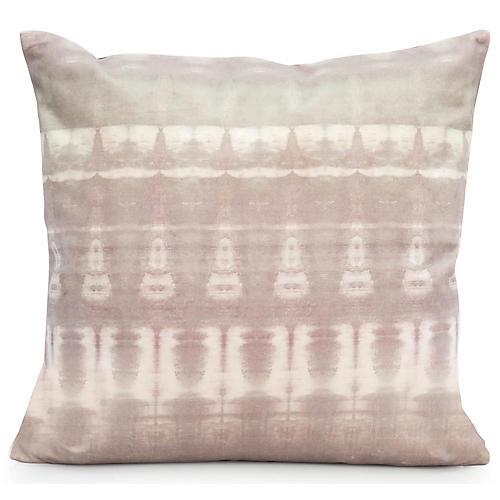 Passage No. 1 20x20 Pillow, Gray Velvet