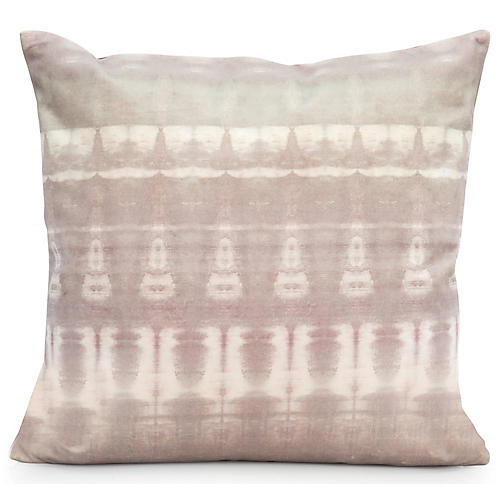 Passage No. 1 20x20 Pillow, Gray Velvet