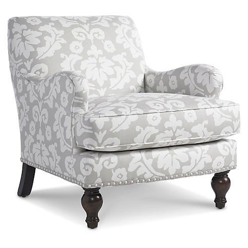 Sumner Chair, Ash/White