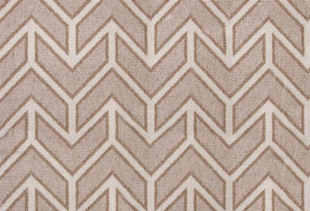 Chevron Wool Rug, Taupe