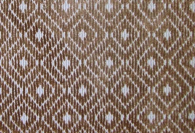 Arabesque Wool Rug, Blue/Brown