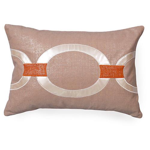 Hunter 16x24 Linen Pillow, Beige