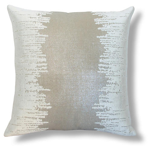 Lee Embroidered 22x22 Linen Pillow