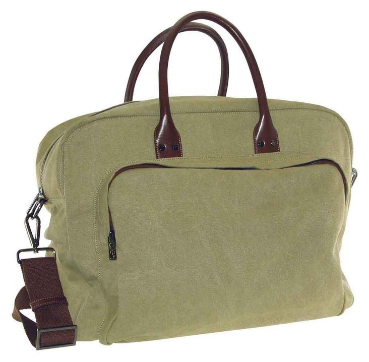 Canvas Gear Bag, Olive Drab