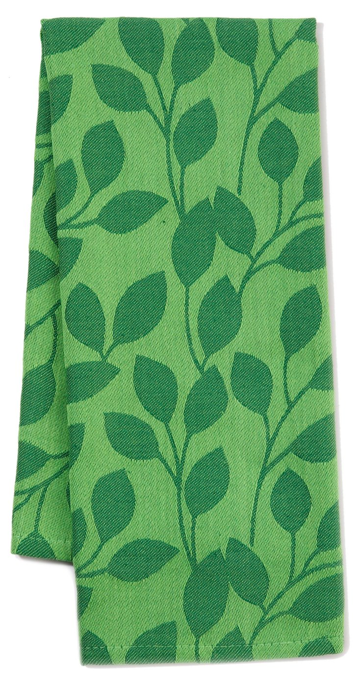 S/3 Vine Dish Towels, Grass