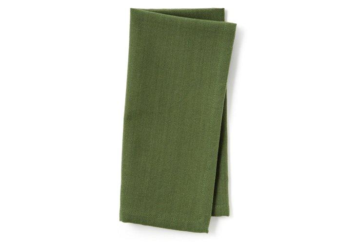 S/4 Basics Napkins, Vineyard Green