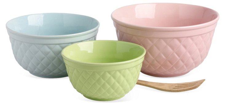 Asst of 3 Sweet Lattice Bowl