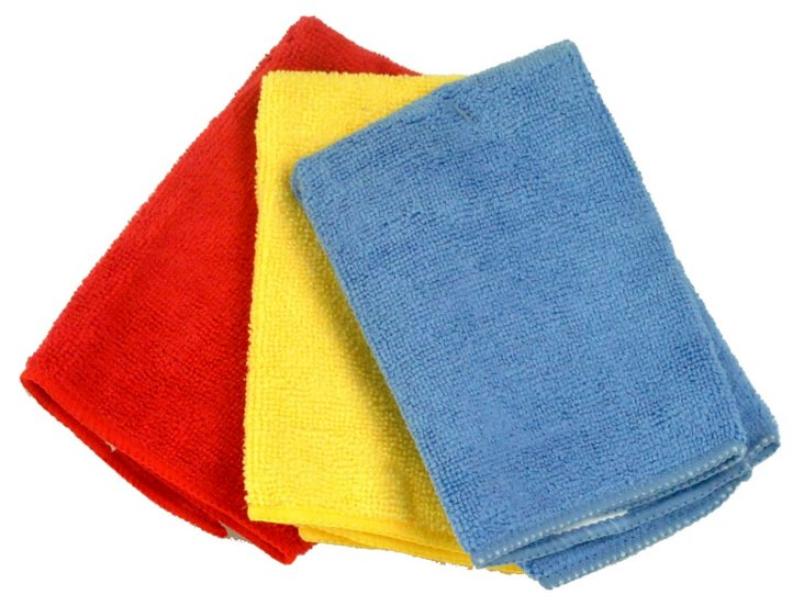 S/6 Solid Primary Towels