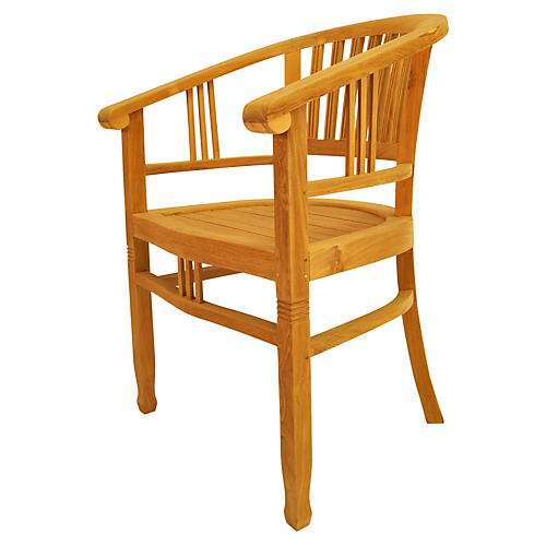 Captain's Armchair, Teak