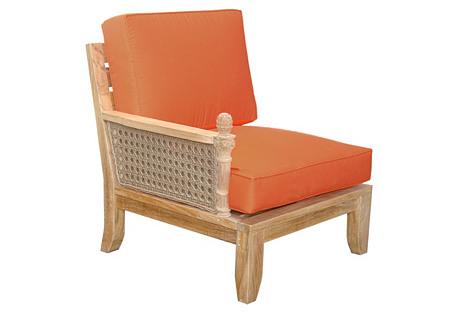 Luxe Right Modular, Orange