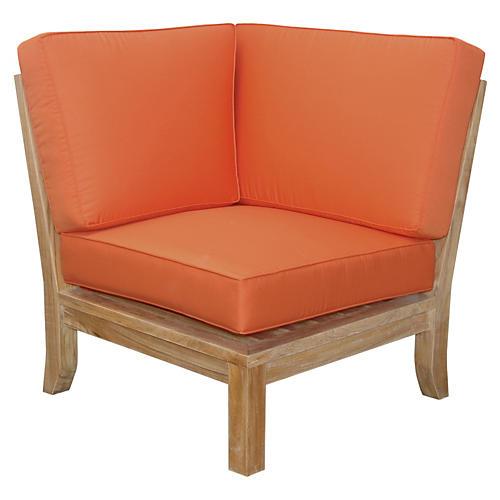 Luxe Corner Modular, Orange