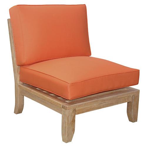 Luxe Center Modular, Orange