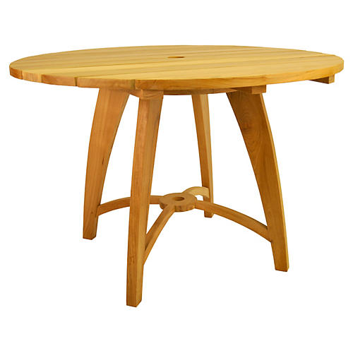 "Windsor 47""Dia Serving Table"