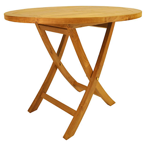 "Bahama 35""Dia Folding Table"