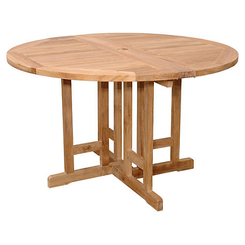 """Butterfly 47""""Dia Folding Table"""