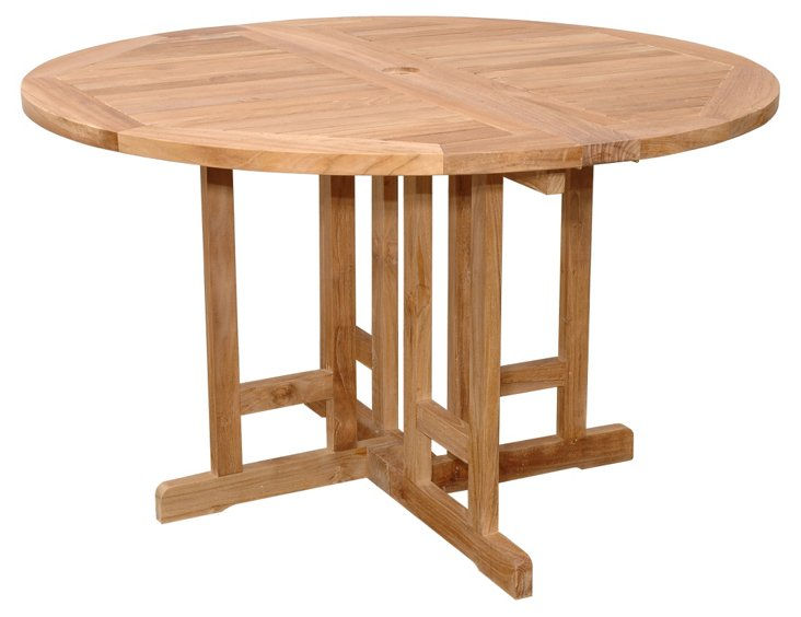 "Butterfly 47""Dia Folding Table"