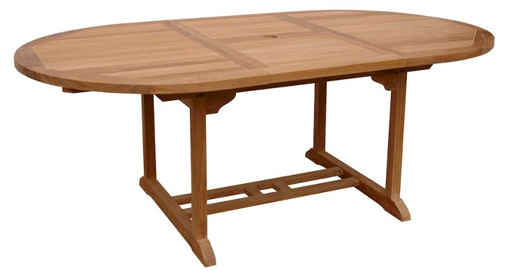 """47""""-71"""" Bahama Oval Extension Table"""