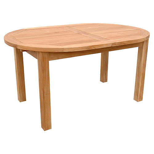 Bahama Oval Extension Table