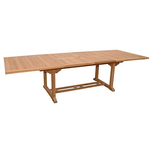 """77""""-117"""" Valencia Rectangular Table"""