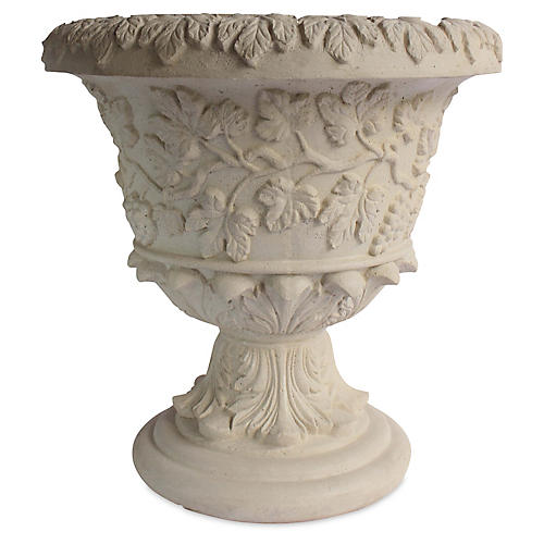 """26"""" French Urn, Natural"""