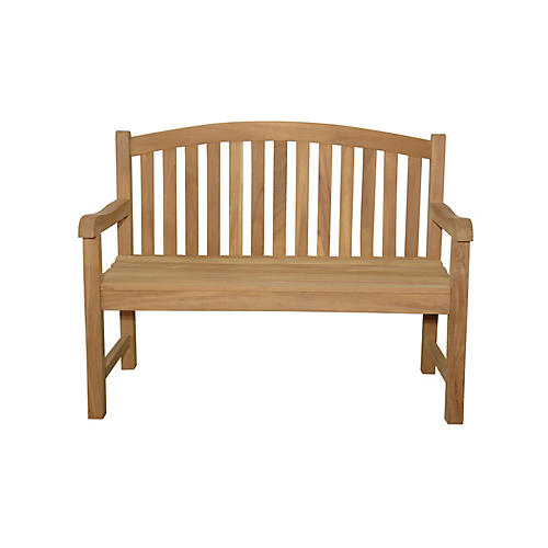 Chelsea 2-Seater Bench, Natural