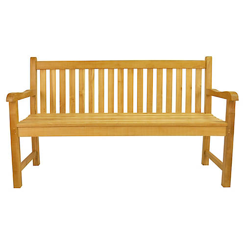 Classic Bench, Natural