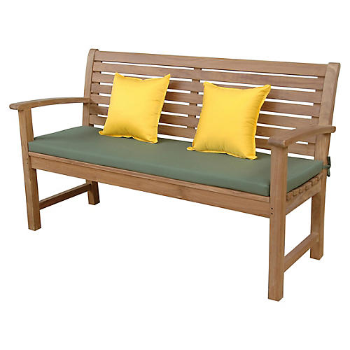 Victoria 3-Seater Bench, Natural