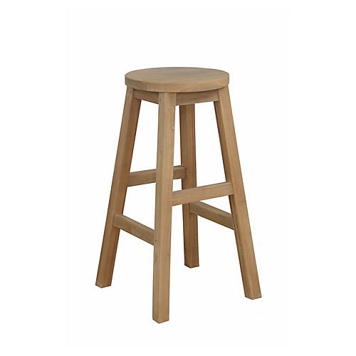 Alpine Round Counter Stool, Natural