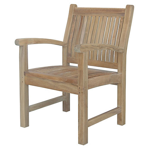 Sahara Outdoor Armchair, Natural