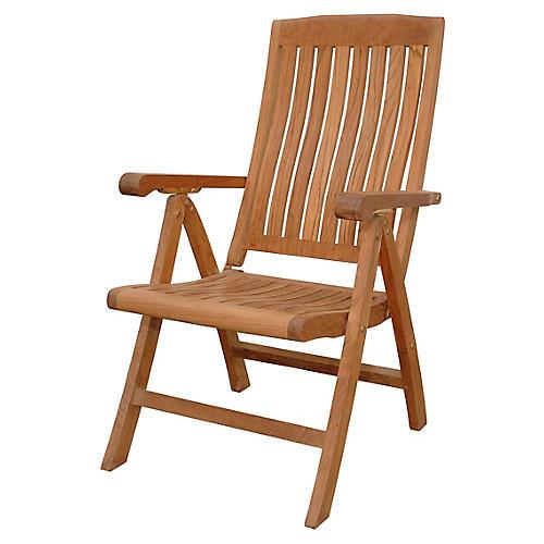 Katana Recliner Armchair, Natural