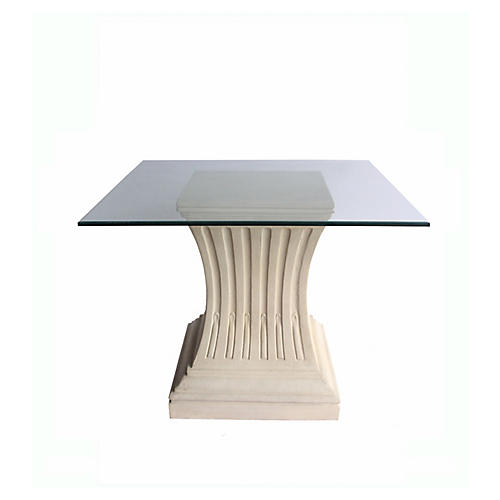 Legacy Dining Table, Beige