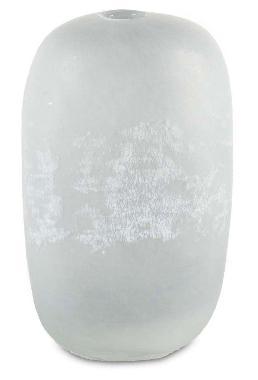 """12"""" Glass Vase, Blue"""