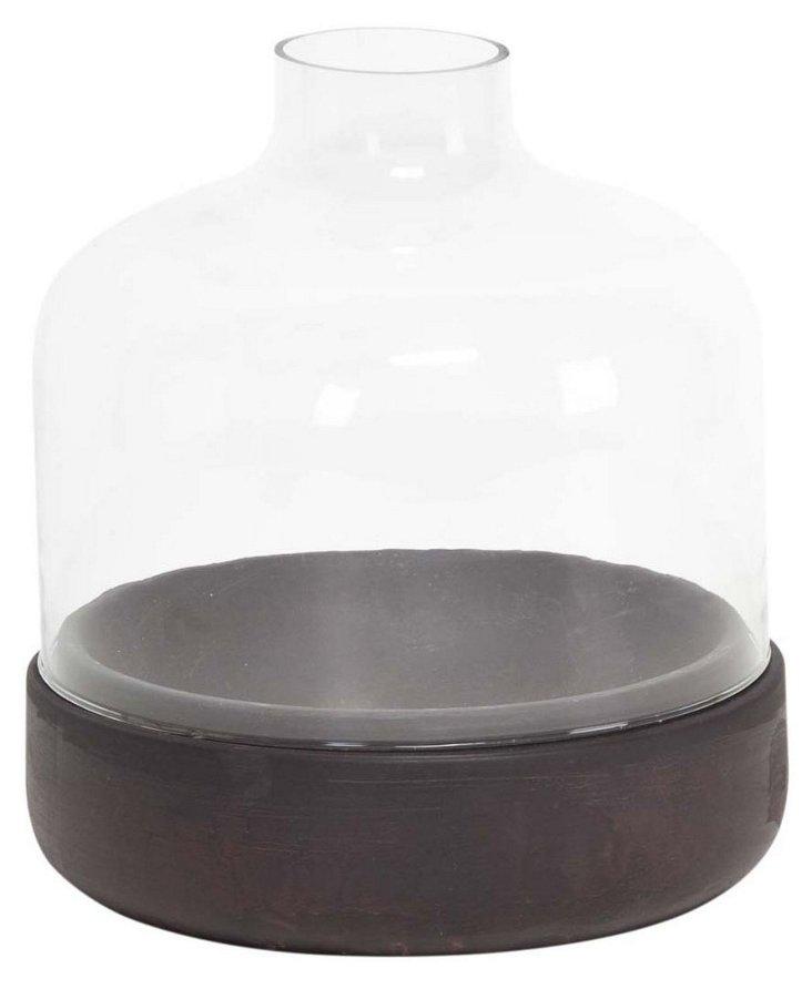"""11"""" Essential Glass Vase"""