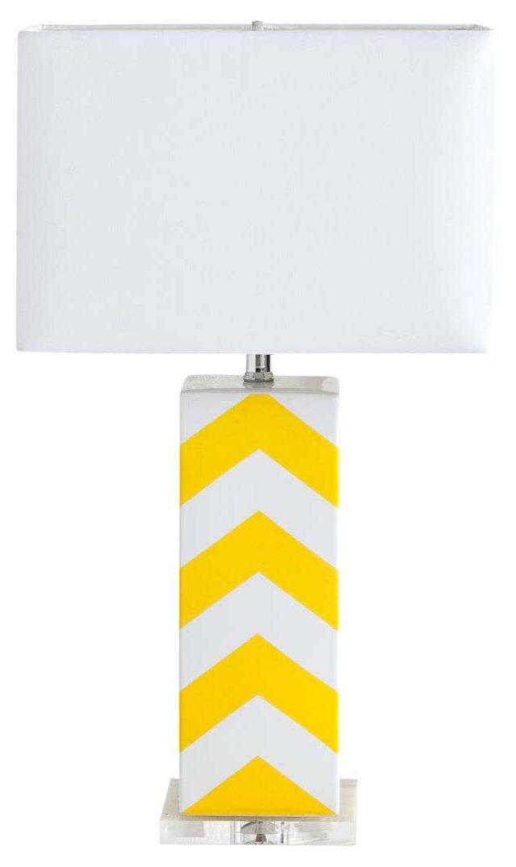 Ella Table Lamp, Yellow