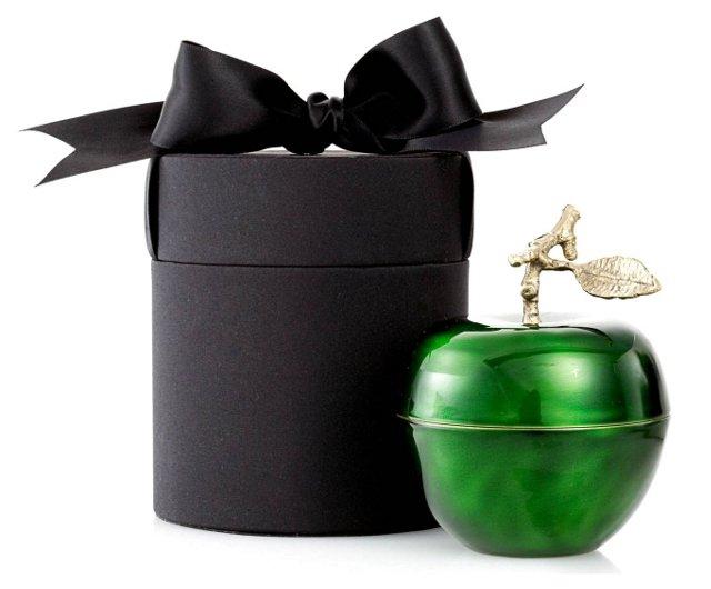 4.5 oz Pomme Verte Apple Candle, Green