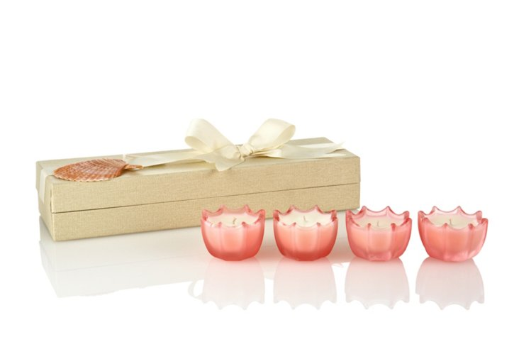 S/4 Mini Gift Set, Pink Peony